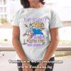 Дамска тениска с надпис Най-добрата супер баба е родена през ноември