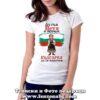 Дамска тениска с надпис Аз съм Петя и обичам българка да се наричам