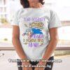 Дамска тениска с надпис Най-добрата супер баба е родена през май