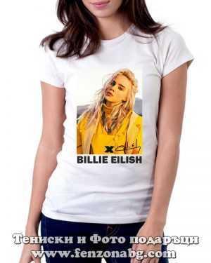 Тениска Billie Eilish 01