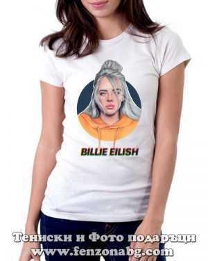 Тениска Billie Eilish 02