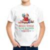 Детска тениска Весела Коледа на най-послушното дете