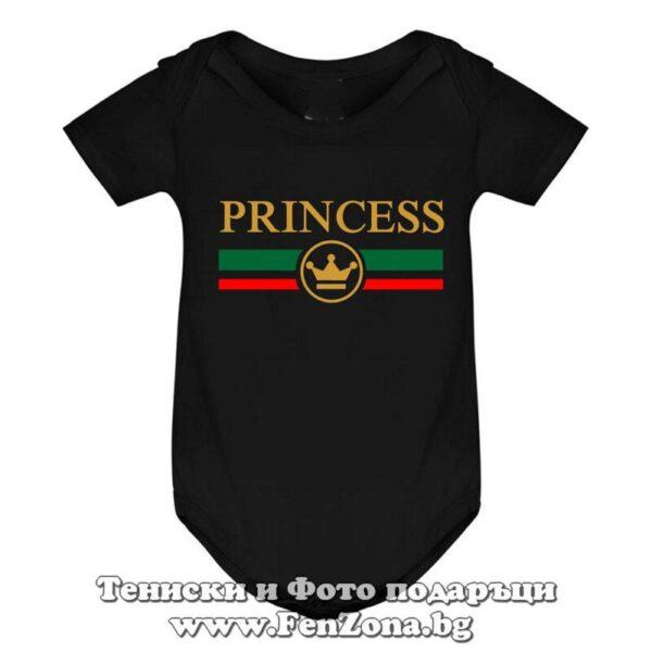 Бебешко боди с надпис - Princess