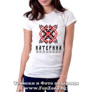 Дамска тениска с шевица – Катерина