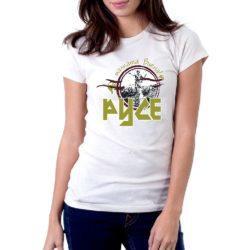 дамска тениска с надпис Русе