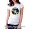 Дамска тениска с лого NASA 02