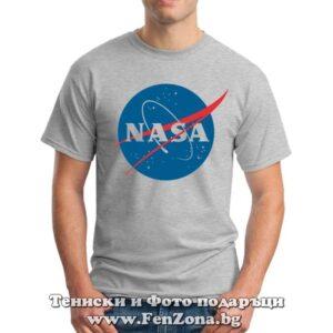 Мъжка тениска с лого NASA 01