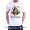 Мъжка тениска с надпис За лов и любов Петър е винаги готов