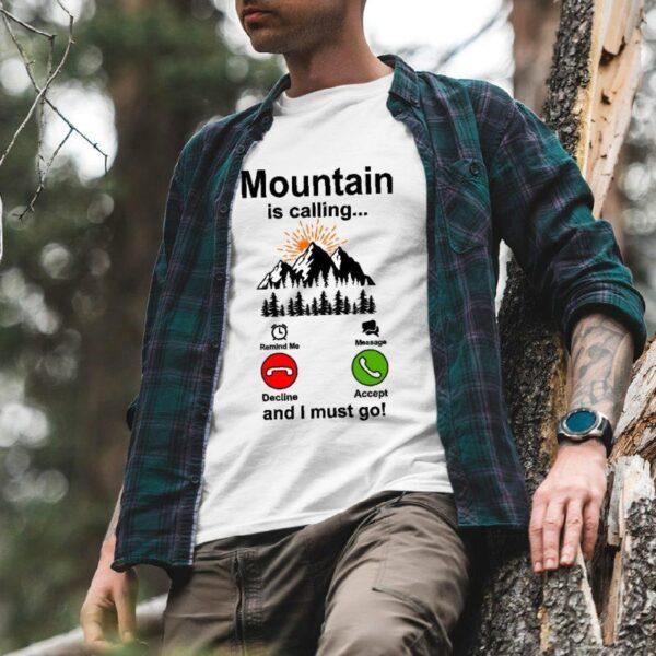 Мъжка тениска Mountain is calling 04