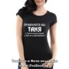 Дамска тениска с надпис Правилата на Таня