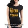 Дамска тениска с надпис Queen Yoana