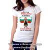 Дамска тениска с щампа Аз съм Йорданка и обичам българка да се наричам