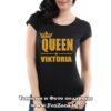 Дамска тениска с надпис Queen Viktoria