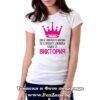 Дамска тениска с надпис Засмяна Виктория