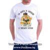 Мъжка тениска с щампа За бира и любов Иван е винаги готов