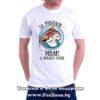 Мъжка тениска с щампа За риболов Иван е винаги готов