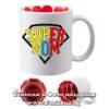 Чаша с надпис Super Mom