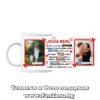 Чаша със снимка и надпис Скъпа мамо