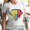 Дамска тениска с надпис Super Mom