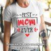 Дамска тениска с надпис Best Mom Ever