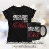 Комплект за зодия Овен - тениска и чаша - Човек и добре да живее среща Овен