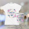 Комплект дамска тениска и чаша - Принцесите са родени през март