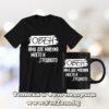 Комплект за зодия Овен - тениска и чаша - Овен две мнения моето и грешното