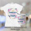 Комплект за Тодоровден - тениска и чаша - Принцесите се казват Теодора