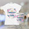 Комплект тениска и чаша - Принцесите се казват Елена 03