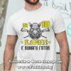 Мъжка тениска с надпис За лов Камен е винаги готов