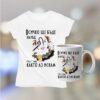 Комплект тениска и чаша с надпис Лъв всичко ще бъде наред
