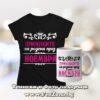 Комплект тениска и чаша – Принцесите са родени през ноември и цветя