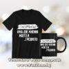 Комплект тениска и черна чаша – Сккорпион две мнения